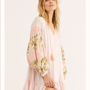 Free People Mix It Up Dress in Floral Mist